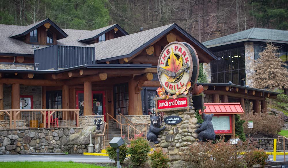 The park grill in gatlinburg