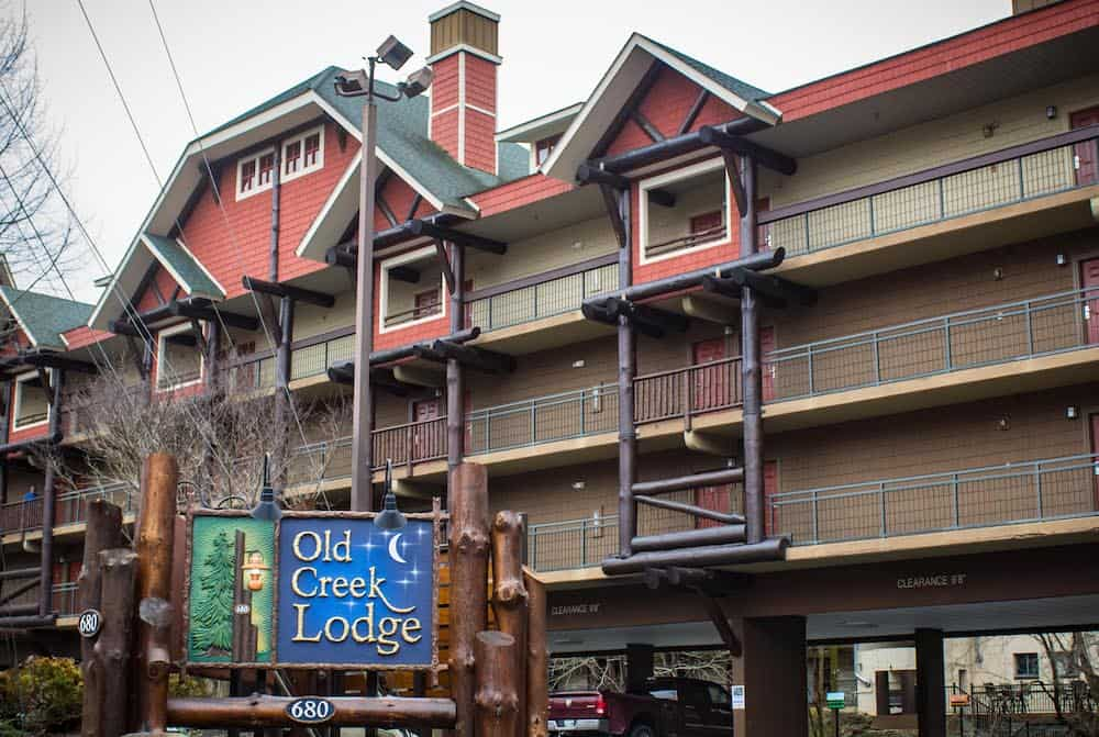 old creek lodge hotel in Gatlinburg